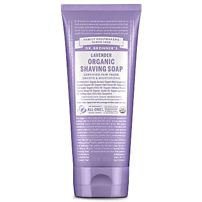 ORGANIC SHAVING SOAP - LAVENDER