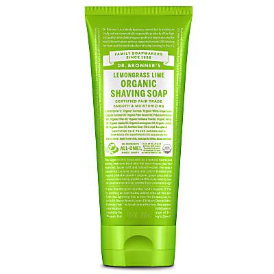 ORGANIC SHAVING SOAP - LEMONGRASS LIME