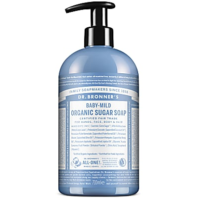 ORGANIC PUMP SOAP - BABY UNSCENTED 710ml