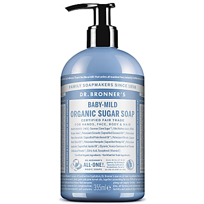 ORGANIC PUMP SOAP - BABY UNSCENTED 355ml
