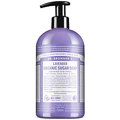 ORGANIC PUMP SOAP - LAVENDER 710ml
