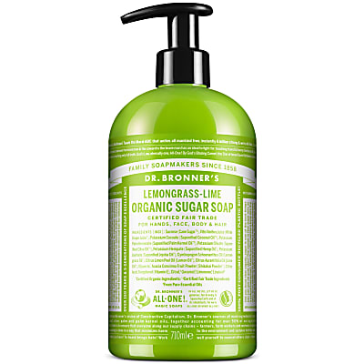 ORGANIC PUMP SOAP - LEMONGRASS LIME 710ml