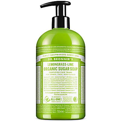 ORGANIC SUGAR SOAP - LEMONGRASS LIME 710ml