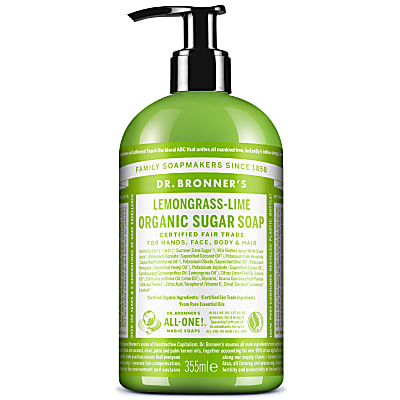 ORGANIC PUMP SOAP - LEMONGRASS LIME 355ml
