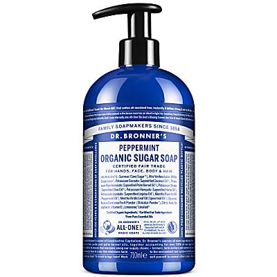 ORGANIC PUMP SOAP - PEPPERMINT 710ml