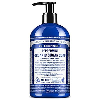 ORGANIC PUMP SOAP - PEPPERMINT 355ml
