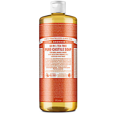 TEA TREE PURE-CASTILE LIQUID SOAP - 946ml