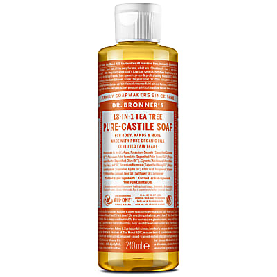 TEA TREE PURE-CASTILE LIQUID SOAP - 237ml