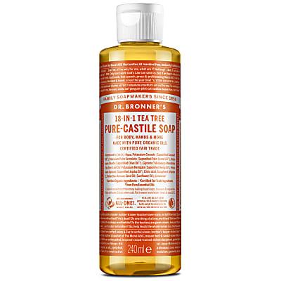 TEA TREE PURE-CASTILE LIQUID SOAP - 237ml