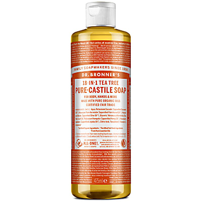 TEA TREE PURE-CASTILE LIQUID SOAP - 473ml