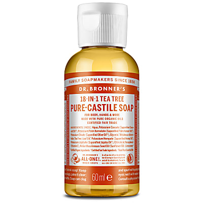 TEA TREE PURE-CASTILE LIQUID SOAP - 60ml