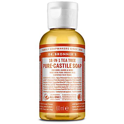 TEA TREE PURE-CASTILE LIQUID SOAP - 60ml