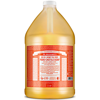 TEA TREE PURE-CASTILE LIQUID SOAP - 3.8L