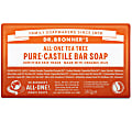 PURE-CASTILE BAR SOAP - TEA TREE